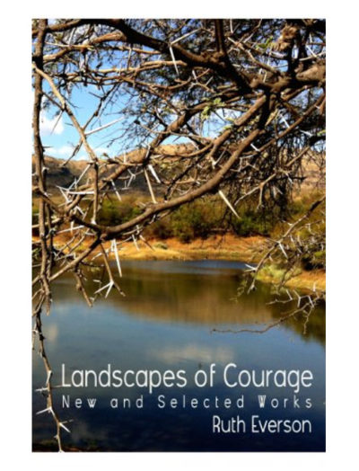 Landscapes of Courage cover by Ruth Everson