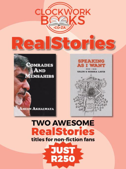 Clockwork Books October Special RealStories