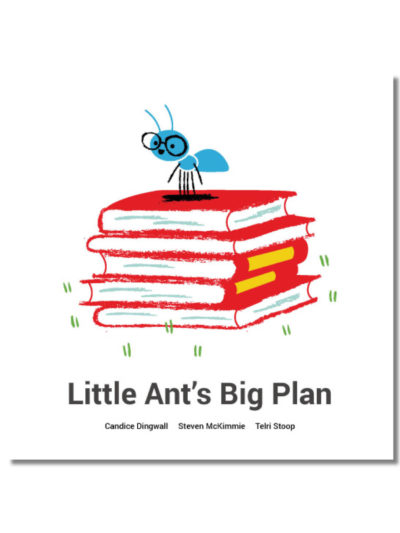 Cover of Little Ants Big Plan Book Dash