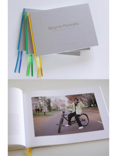 Cover of Bicycle Portraits by Stan Engelbrecht & Nic Grobler