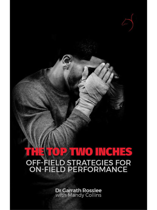 Cover of The Top Two Inches by Garrath Rosslee and Mandy Collins