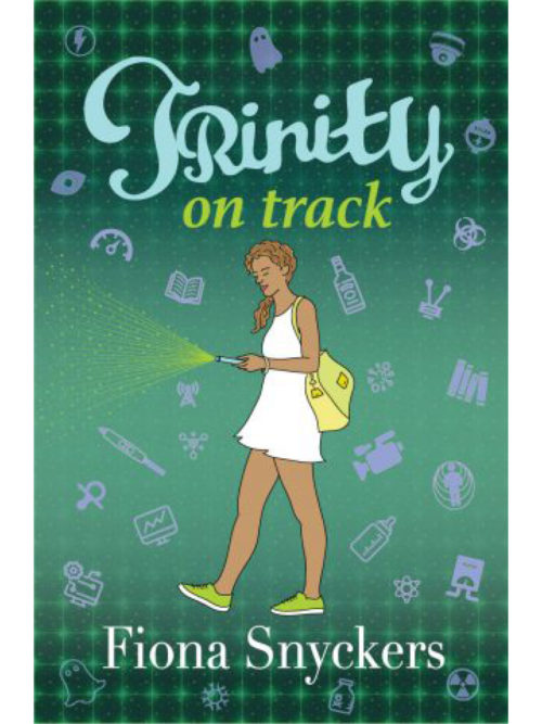 Cover of Trinity on Track by Fiona Snyckers