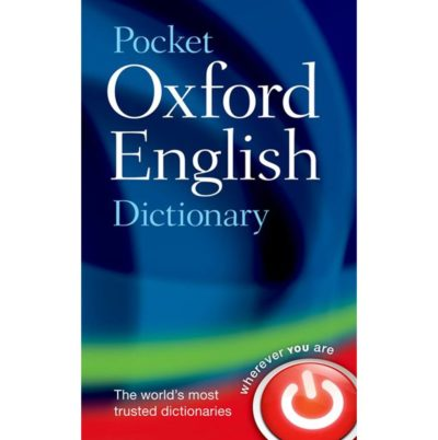 Oxford Pocket English Dictionary