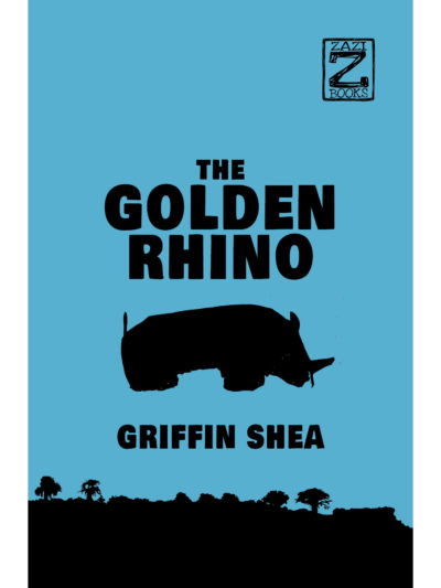 Cover of The Golden Rhino by Griffin Shea for Clockwork Books website